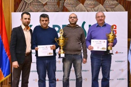 "THE VICTORY OF ""ARMSWISSBANK'S"" CHESS TEAM"