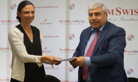 ARMSWISSBANK CJSC AND EBRD SIGNED GENERAL MASTER REPURCHASE AGREEMENT