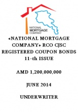 """NATIONAL MORTGAGE COMPANY"" RCO CJSC REGISTERED COUPON BONDS 11-TH ISSUE"