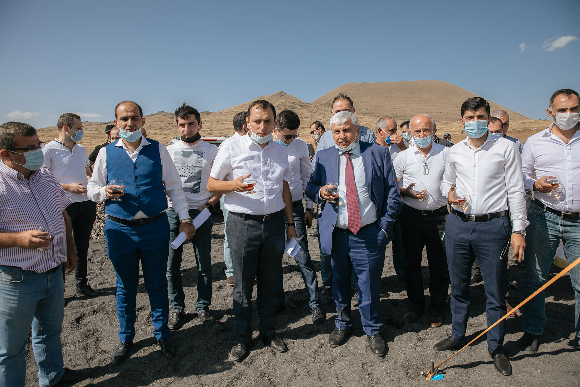 WITH THE FINANCING OF ARMSWISSBANK THE LARGEST SOLAR POWER PLANT WAS LAUNCHED IN ARMENIA