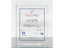 ARMSWISSBANK RECIEVED AN AWARD FROM FRONTCLEAR FOR CROSS-CURRENCY REPO TRANSACTIONS WITH EBRD